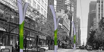 Imagem de Poste de luz limpa o ar poluído das grandes cidades no site TecMundo