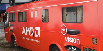 Imagem de AMD disponibiliza motorhome na Campus Party no site TecMundo
