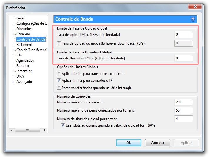 cdbec77d1 AmpliarControle a banda para downloads ou uploads.