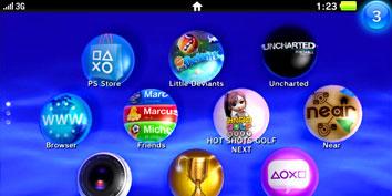 Imagem de LiveArea é a nova interface do PSP2 (codinome NGP) no site TecMundo