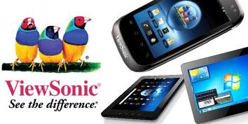 Imagem de ViewSonic apresenta tablet e smartphone com dois chips no site TecMundo