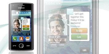Imagem de Samsung Wave 578 traz versão 1.1 do sistema Bada no site TecMundo