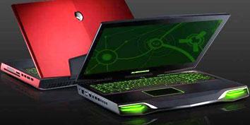 Imagem de Notebook gamer M18x da Alienware roda em 4 GHz e tem 32 GB de RAM no site TecMundo