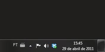 Imagem de Dicas do Windows 7: como exibir, por extenso, a data na Barra de sistema no site TecMundo