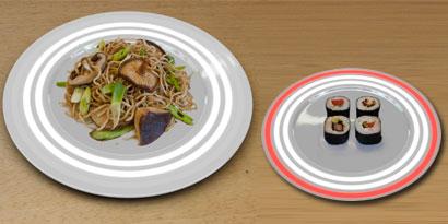 Imagem de Prato conceitual alerta sobre níveis de radioatividade na comida no site TecMundo